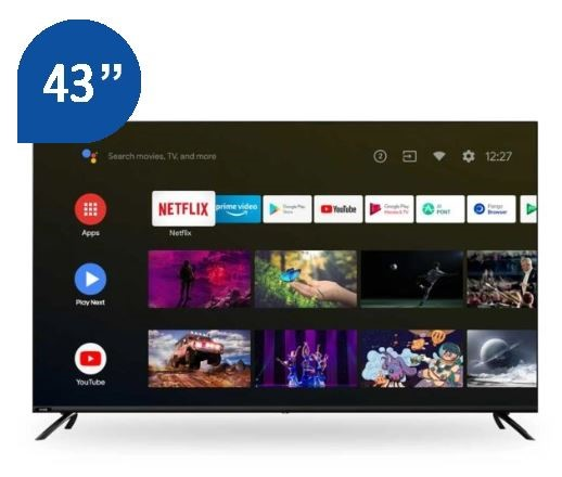 "Chiq 43"" Smart 4K UHD TV (U43H10)"