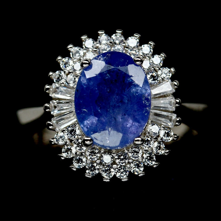 Gorgeous Genuine Tanzanite Ring