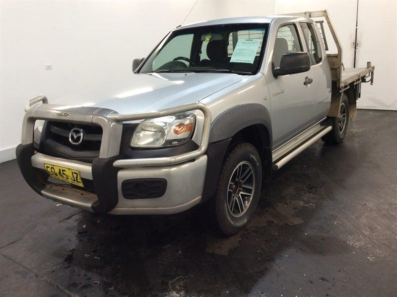 2009 Mazda BT-50 B3000 Freestyle DV+ (4x4) 4WD Manual - 5 Speed Extra Cab
