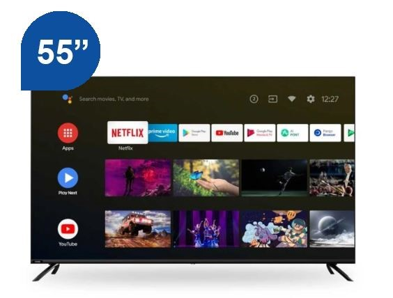 "Chiq 55"" Smart 4K UHD TV (U55H10)"