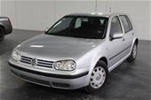 Unreserved 2001 Volkswagen Golf GL A4 Automatic Hatchback