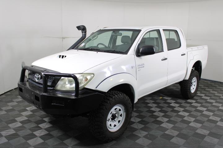 2011 Toyota Hilux SR 4WD Turbo Diesel Dual Cab, 75,746km