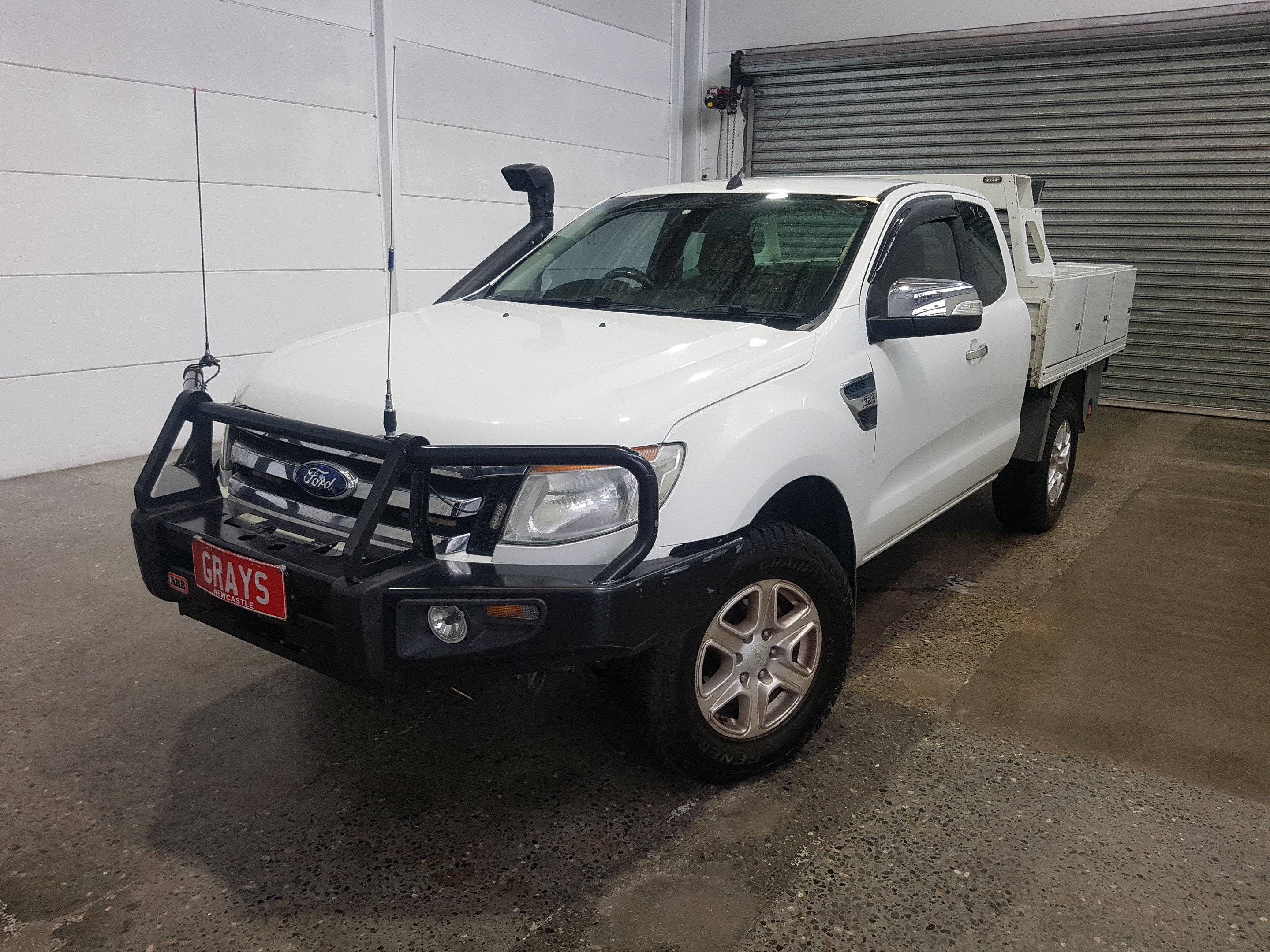 2012 Ford Ranger XLT 3.2 (4x4) PX Turbo Diesel Automatic Ute