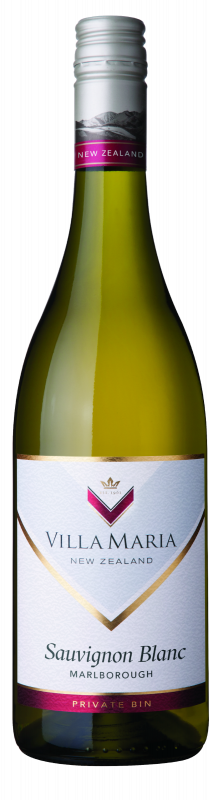 Villa Maria Sauvignon Blanc 2019 (12x 750mL). Marlborough, NZ.