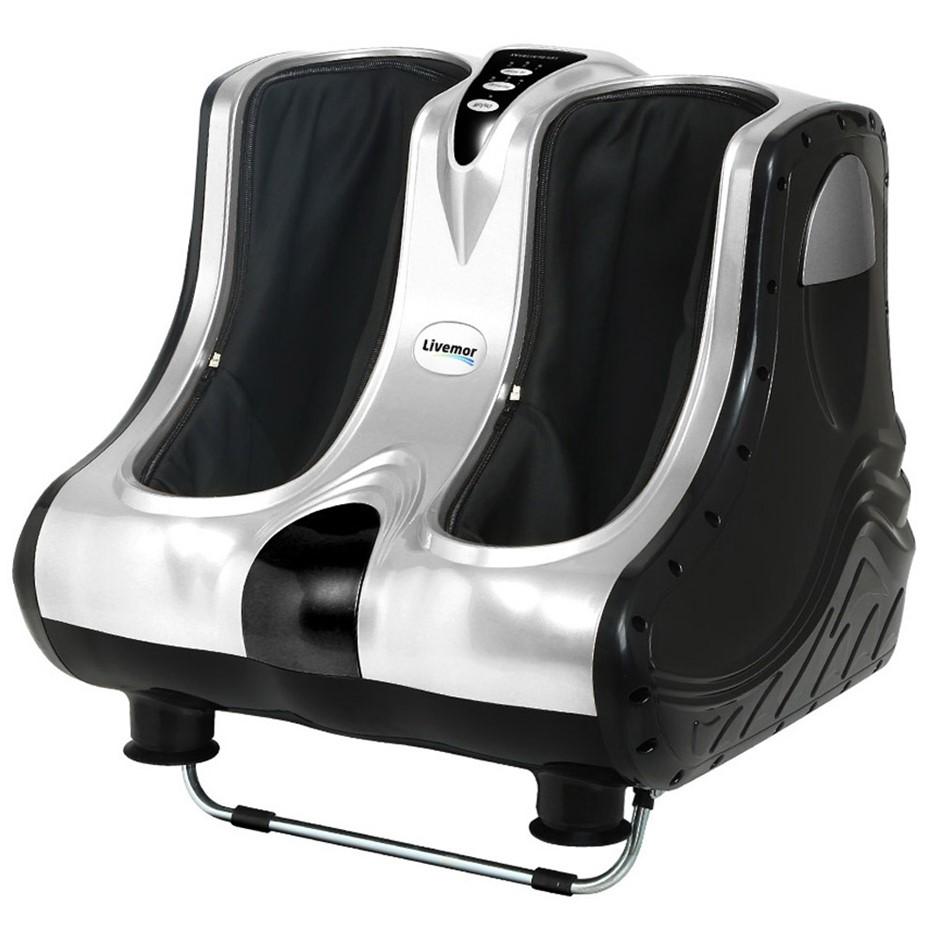 Livemor Calf & Foot Massager - Silver
