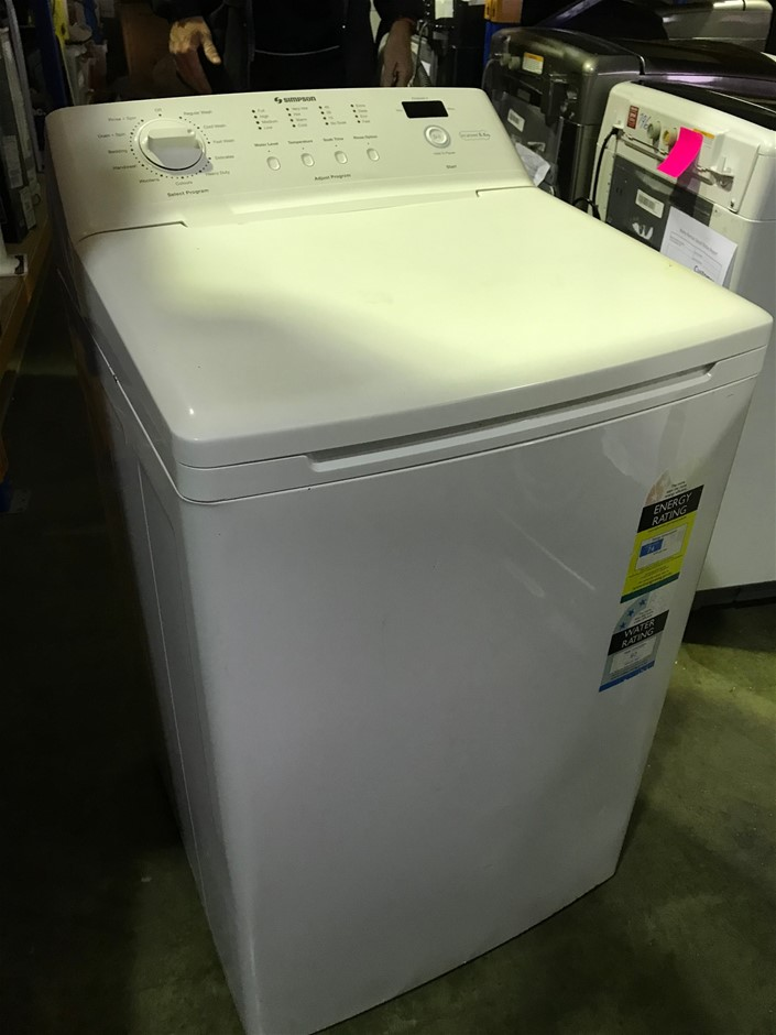 5.5kg Top Load Simpson Washing Machine SWT5542