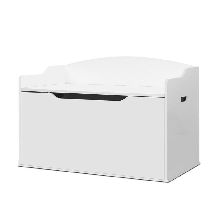 Keezi Kids Toy Box Storage Cabinet Chest Blanket Children Clothes Organiser