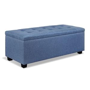 Artiss Premium Storage Ottoman - Blue