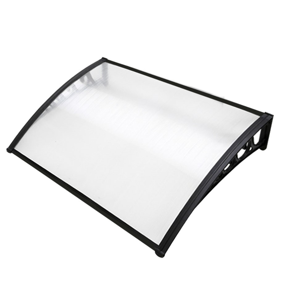 1m x 1.2m DIY Window Door Awning Canopy Patio UV Sun Shield