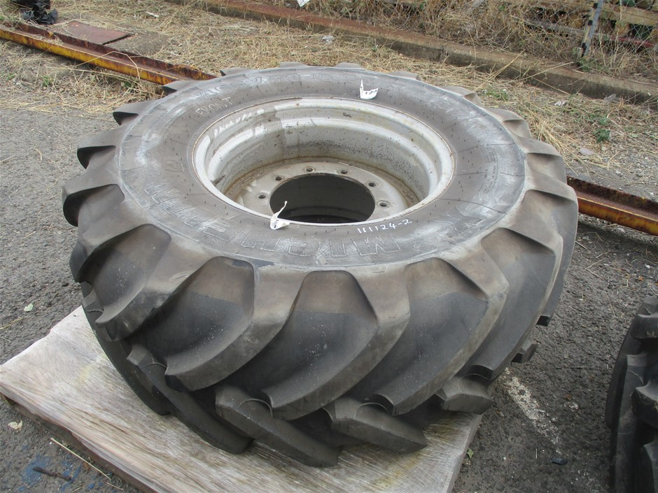 Tractor Tyre and Rim
