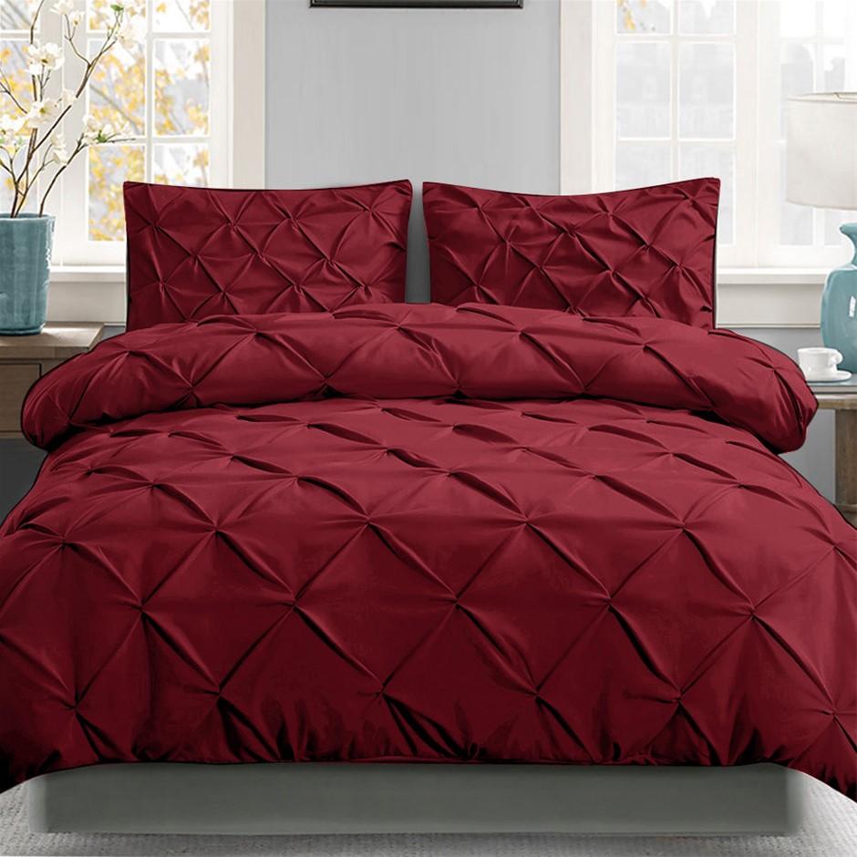 Giselle Luxury Classic Bed Duvet Doona Quilt Cover Set Hotel Super King