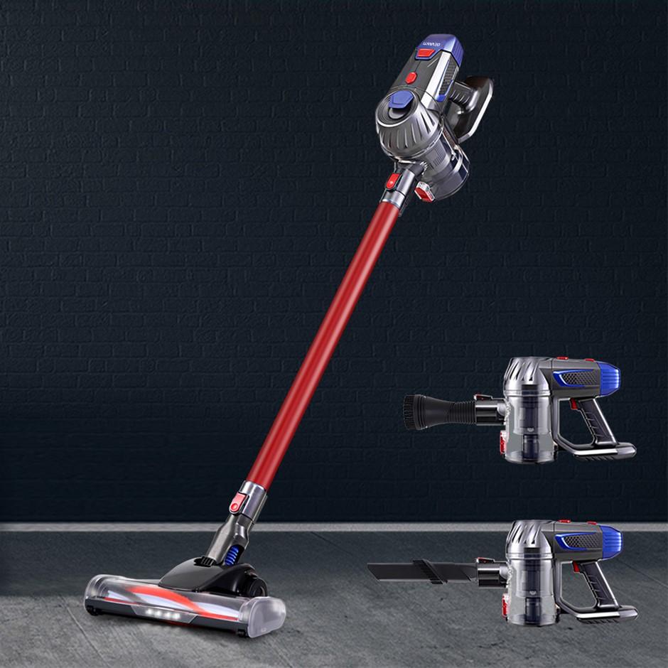 Devanti Handheld Vacuum Cleaner Cordless Stick Handstick Bagless 2-Speed