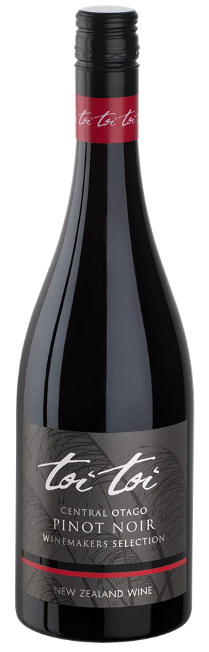 Toi Toi Pinot Noir Winemakers Selection 2018 (6 x 750mL) NZ