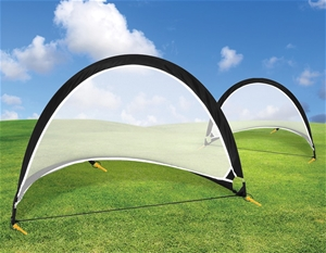 Pair of Soccer Football Goals 180cm Pop