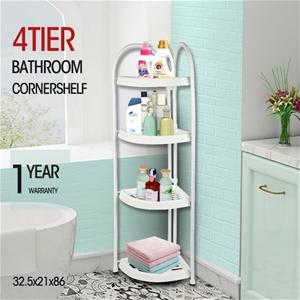 Shower Corner Shelf White Caddy Bathroom