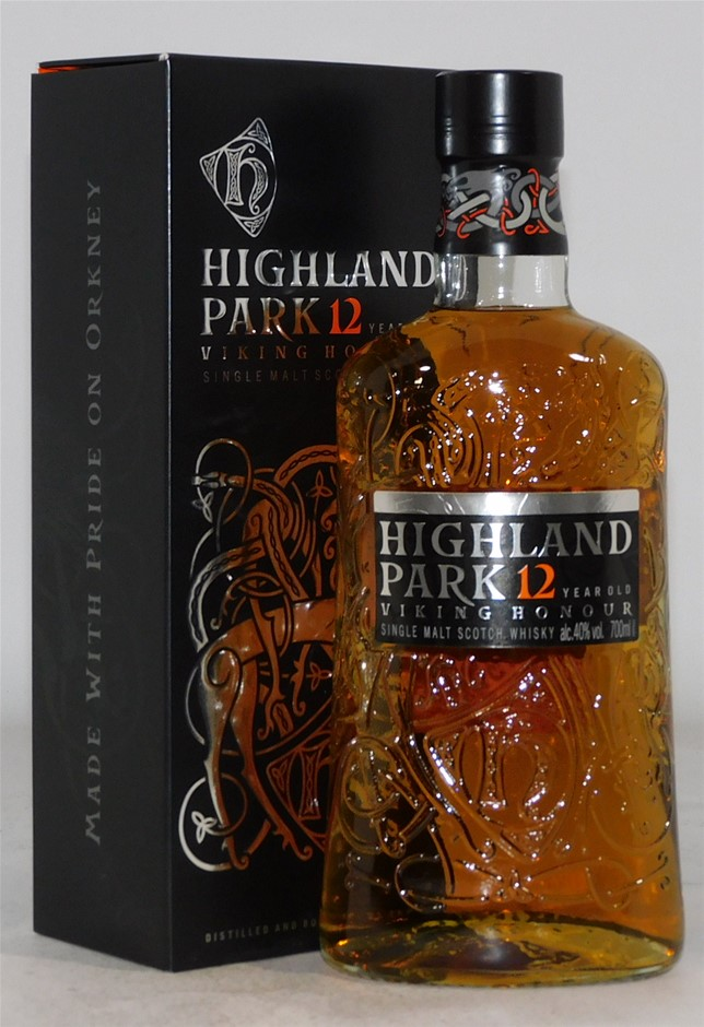 Highland Park 12 Year Scotch Whisky (1x 700mL)
