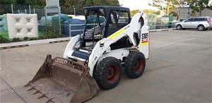 Bobcat S185 turbo Diesel Skid Steer Load