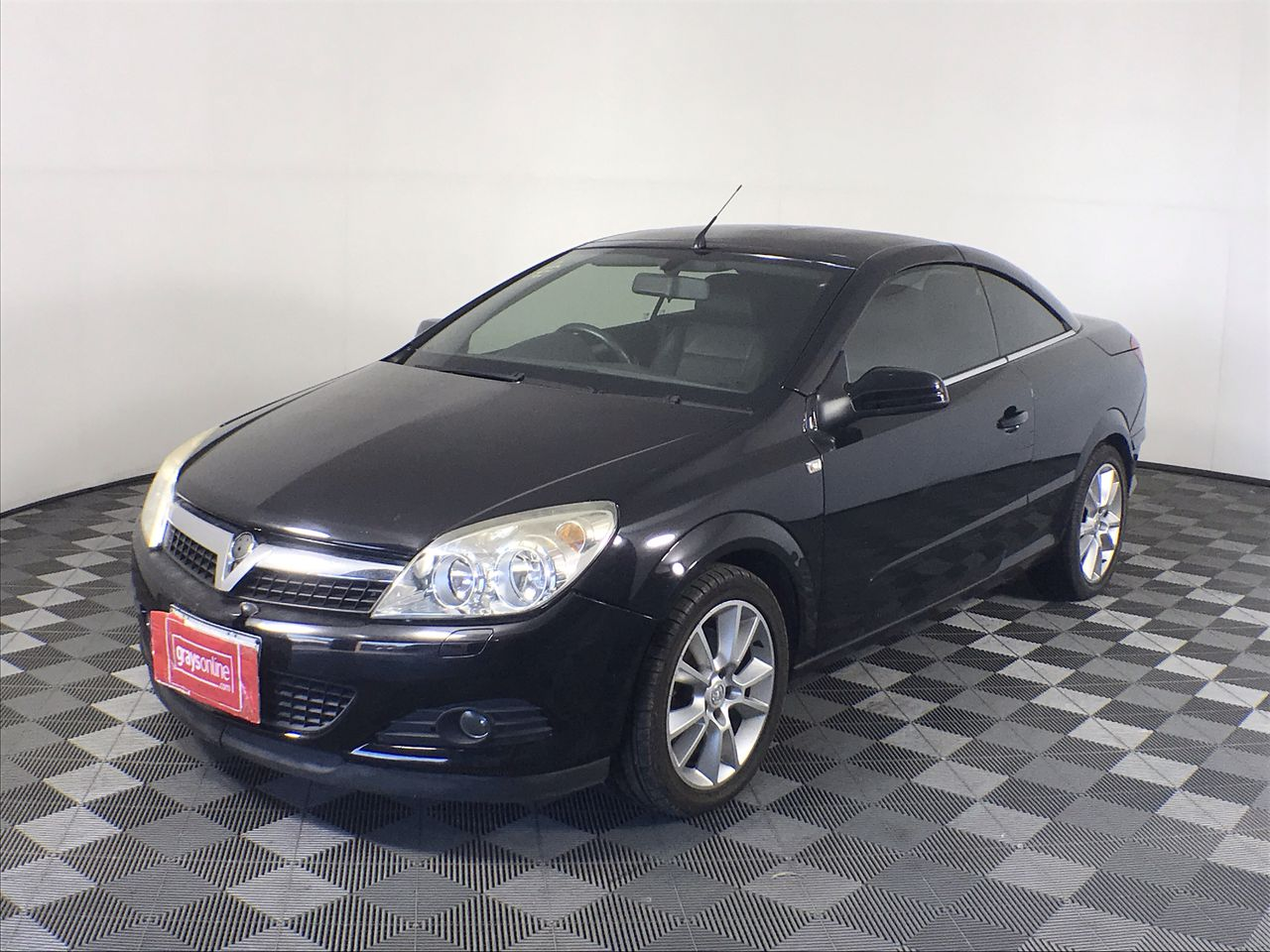 2008 Holden Astra Twin Top Convertible 83,181Kms