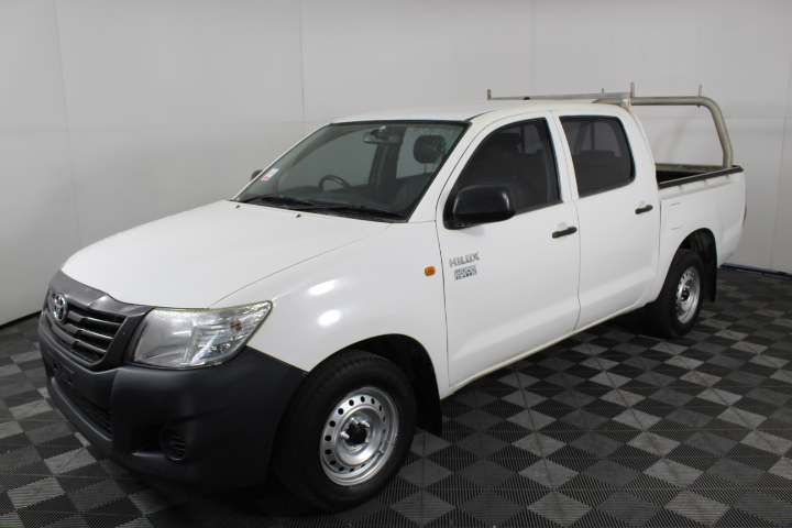 2013 Toyota Hilux Workmate TGN16R Automatic Dual Cab
