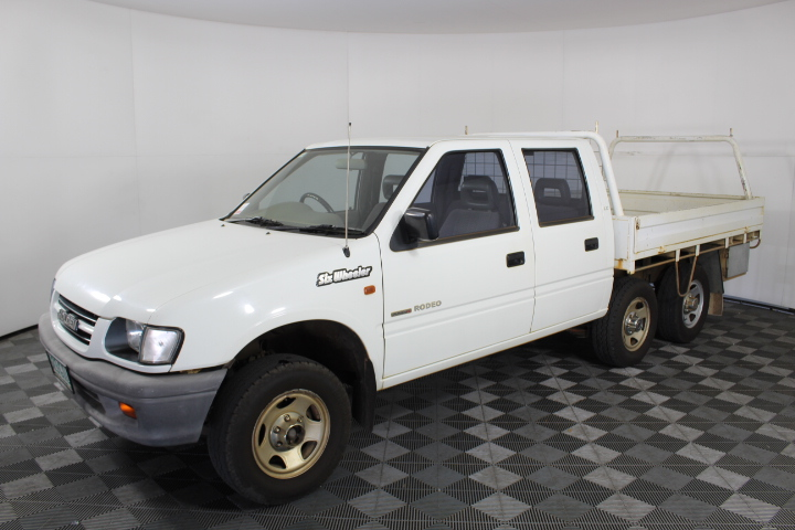 2001 Holden Rodeo LX R9 Dual Cab 6 Wheeler