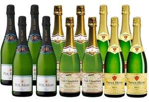 Mixed French Bubbles Pack (12x 750mL), F