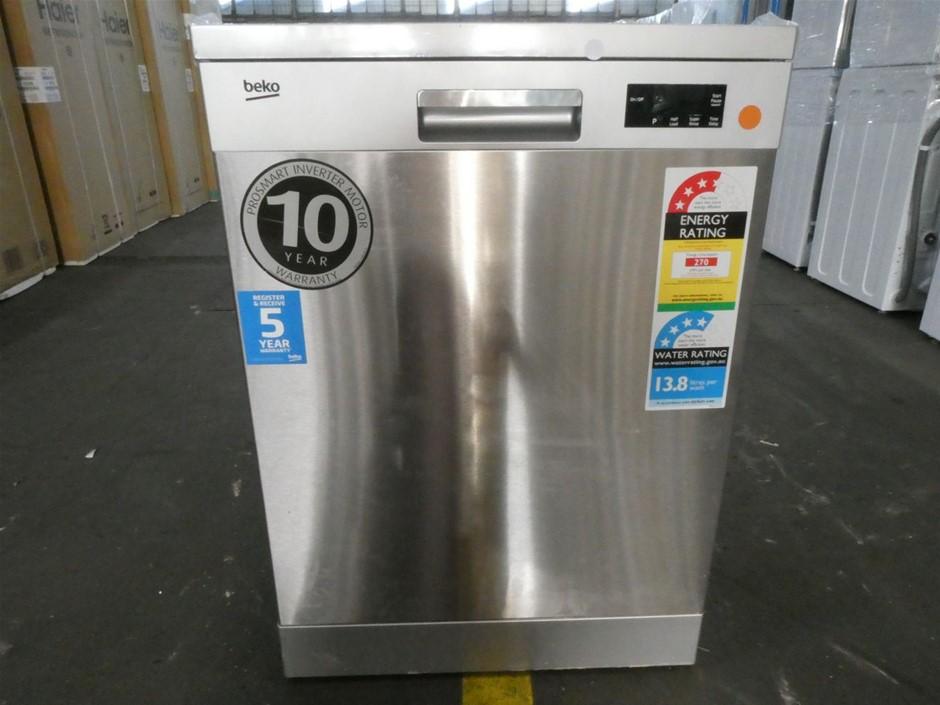 Beko 60cm Freestanding Dishwasher - Stainless Steel (BDF1410X)