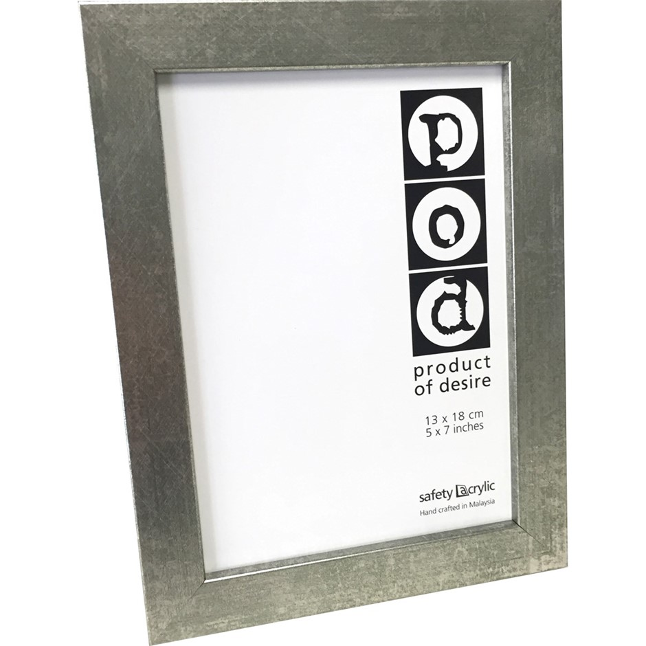 6 x POD 5X7 Epping Distressed Silver Frames