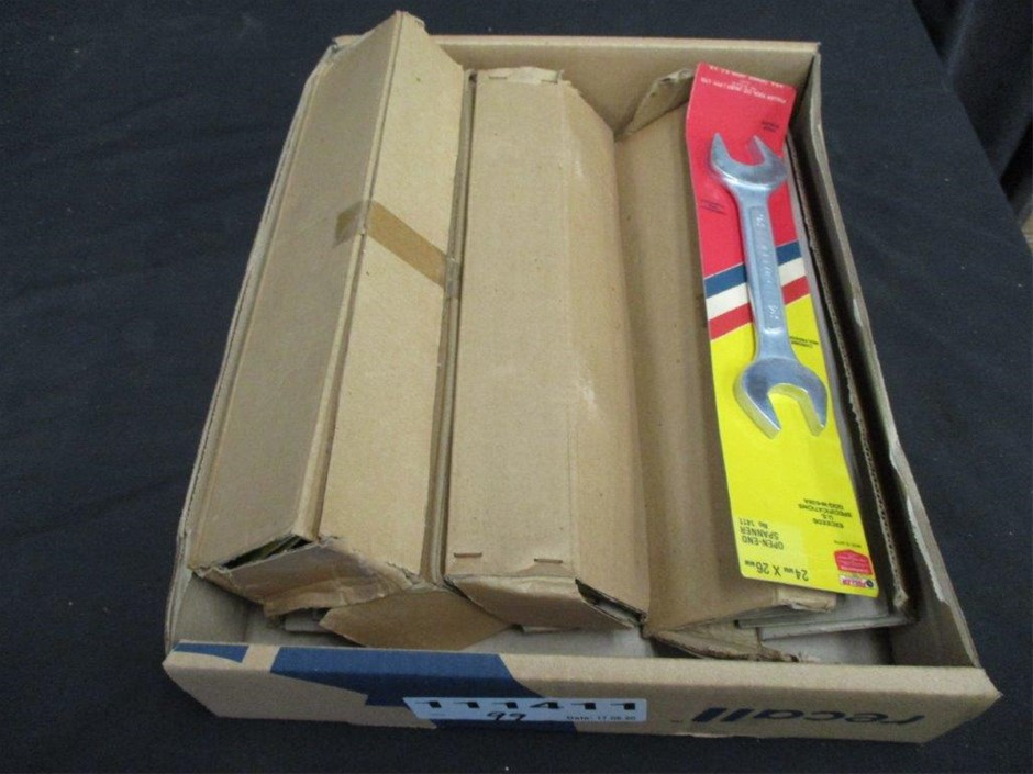 Quantity 20 Fuller Open End Spanners