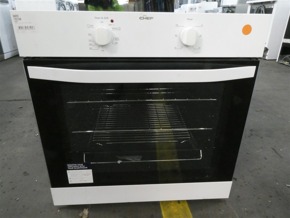 Chef Oven Electric Fan Forced Oven (CVE612WA) (White)