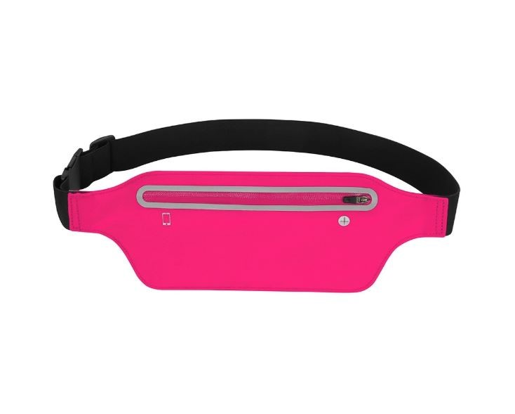 2 x Ultra Thin Cell Phone Belt For Running-Pink