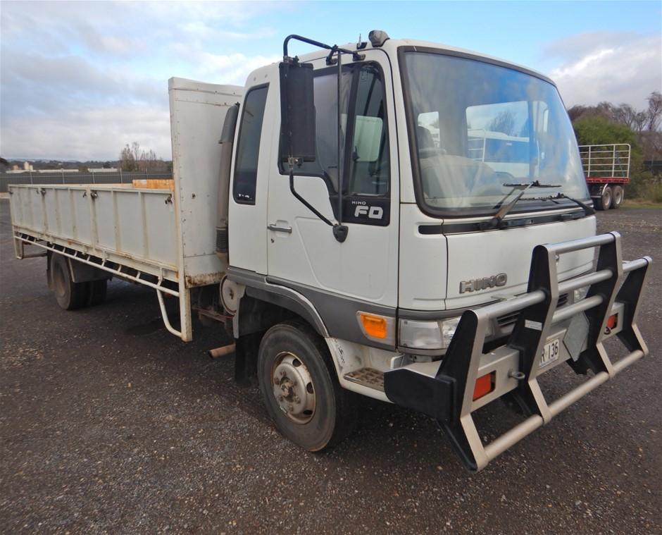 1997 Hino FD2J 4x2 Service Truck, With Road Worthy (Pooraka, SA)