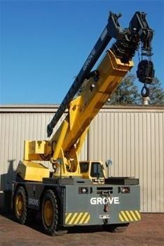 Grove 4WD All Terrain 20 Tonne Crane