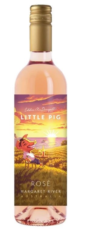 Eddie McDougal's Little Pig Rosé 2019 (6 x 750mL) Margaret River, WA