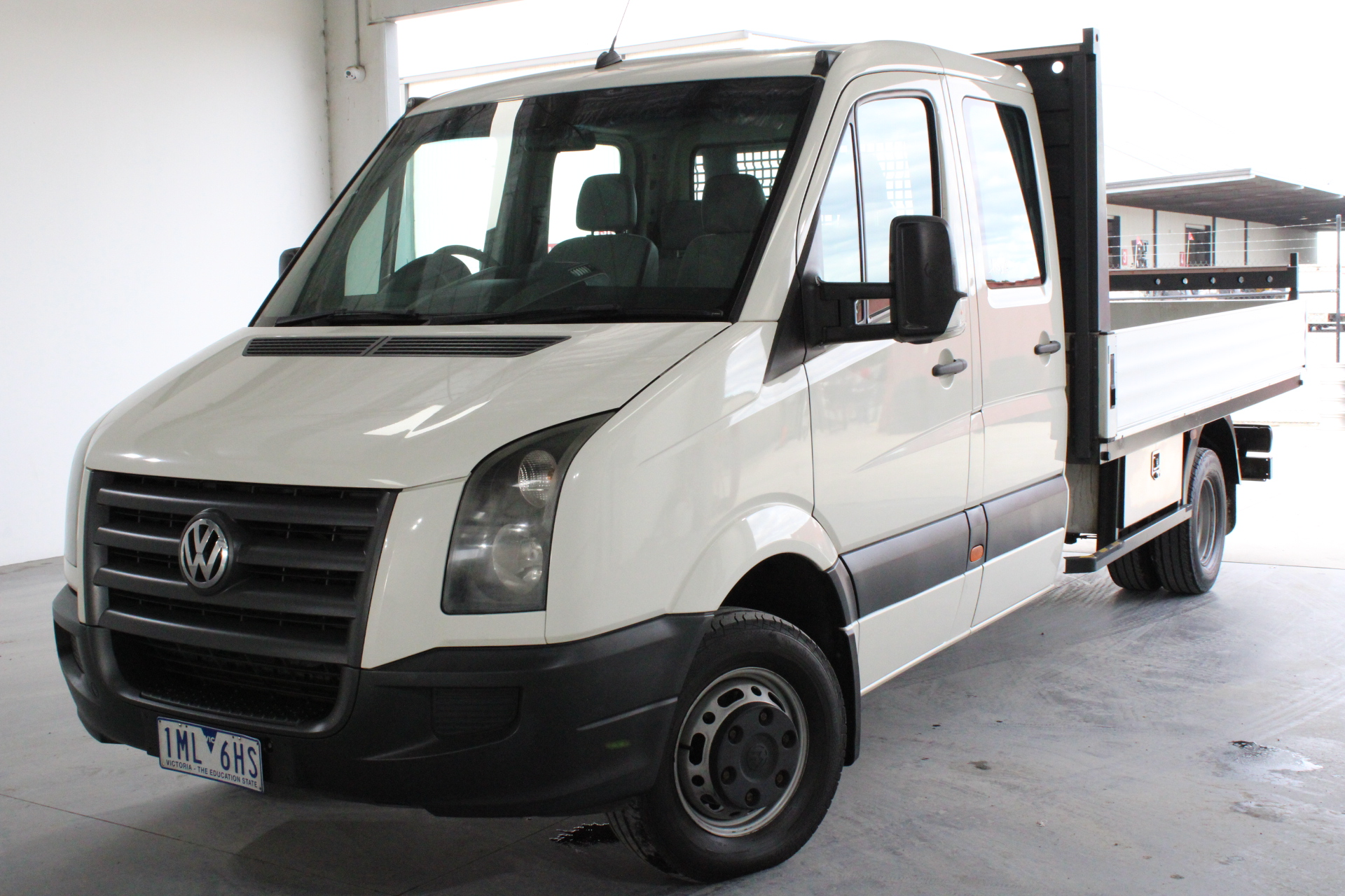 2009 Volkswagen Crafter 50 LWB Turbo Diesel Manual 7 Seats Crew Cab Chassis
