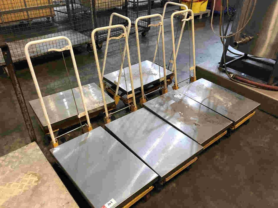 Qty 6x Lift Trolleys
