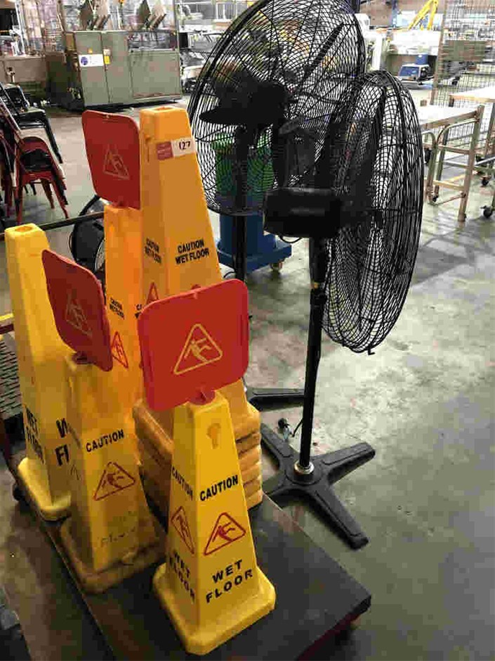 Safety Bollards & Fans