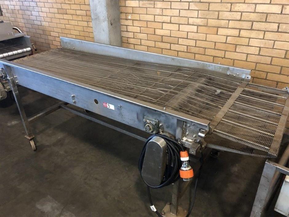 Mobile Mesh Conveyor