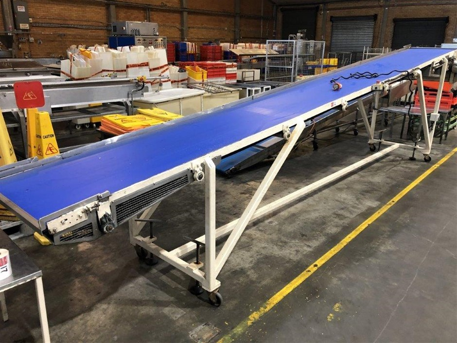Mobile Incline Belt Conveyor