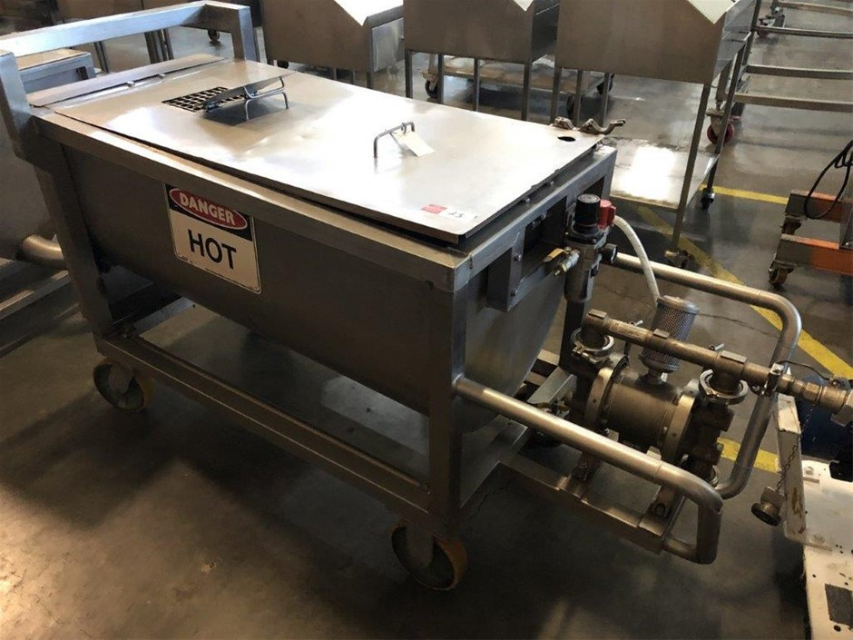 Mobile Stainless Steel Hot Mix Tank