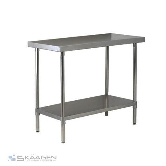 Unused 1220mm x 610mm Stainless Steel Bench