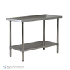 Unused 1524mm x 610mm Stainless Steel Bench