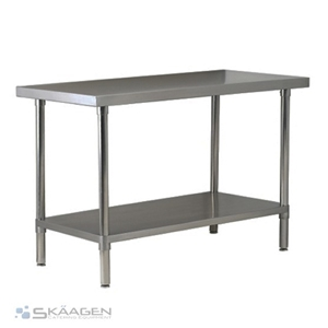 Unused 1829mm x 610mm Stainless Steel Be