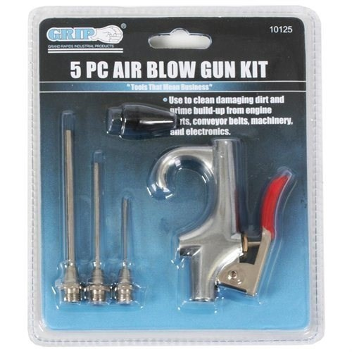 5pc Air Blow Gun Kit Accessories. Buyers Note - Discount Freight Rates Appl
