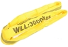 2 x Round Lifting Slings, WLL 3,000kg x 1M (With Test Cert). Buyers Note -