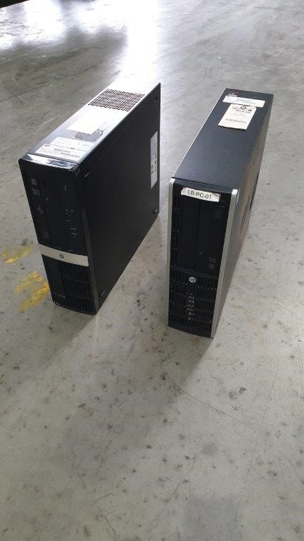Qty 2 x HP Personal Computer