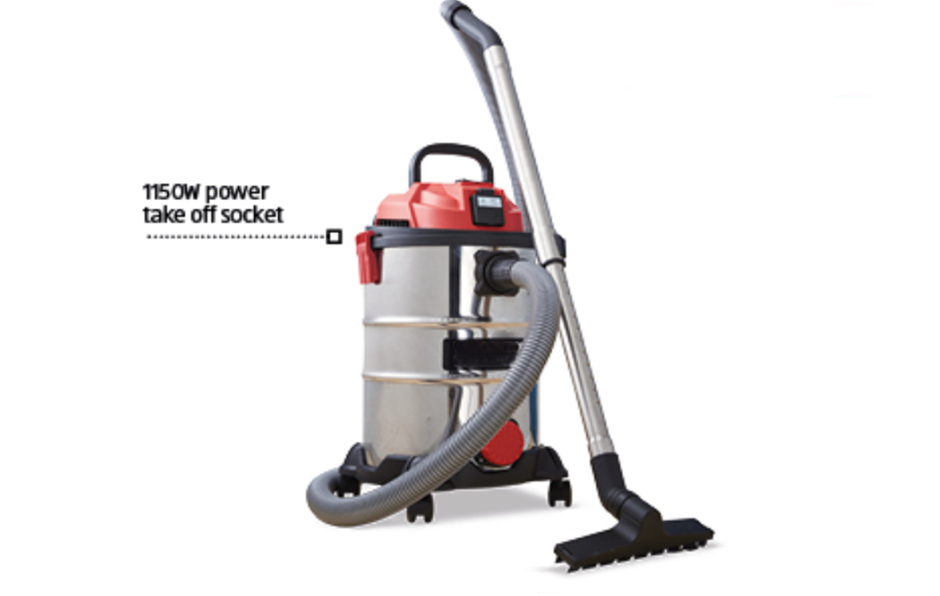Leading Retailer Brand - 25 Litre Wet and Dry Vacuum with Dust Extraction