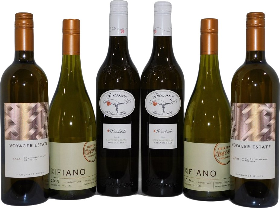 Pack of Assorted White Wine (6 x 750mL)
