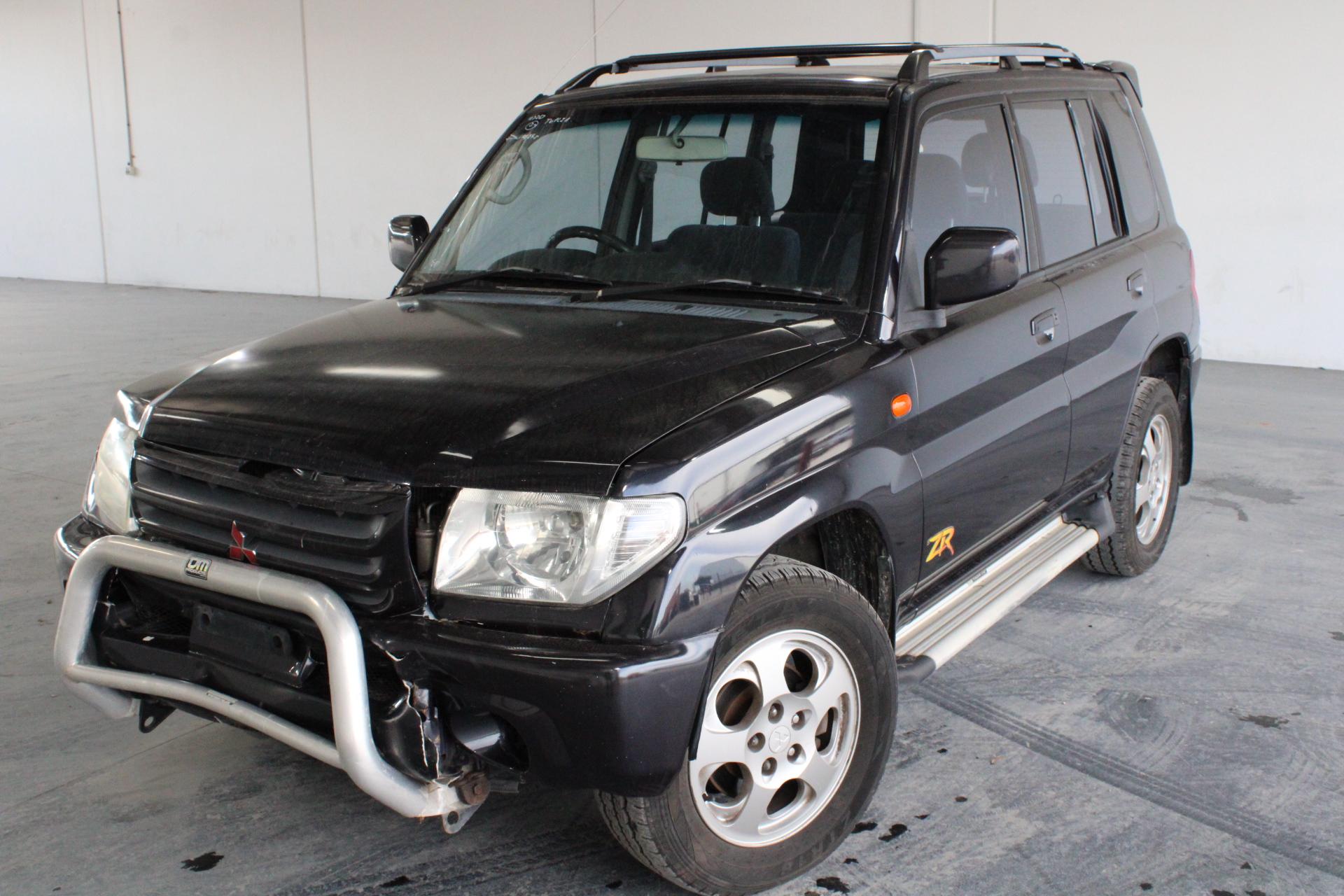 2001 Mitsubishi Pajero iO (4x4) QA Automatic Wagon