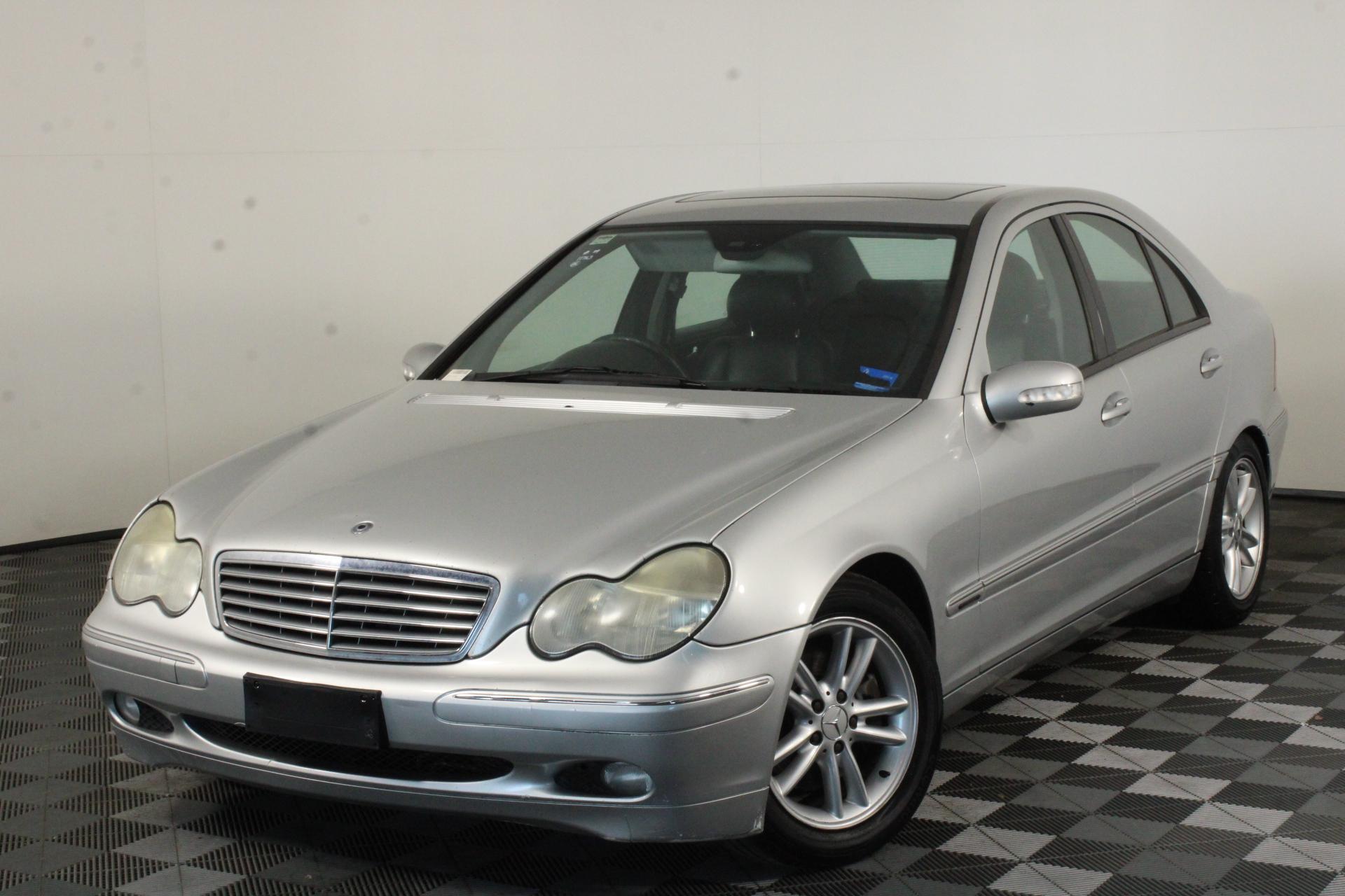 2002 Mercedes Benz C320 Elegance W203 Automatic Sedan