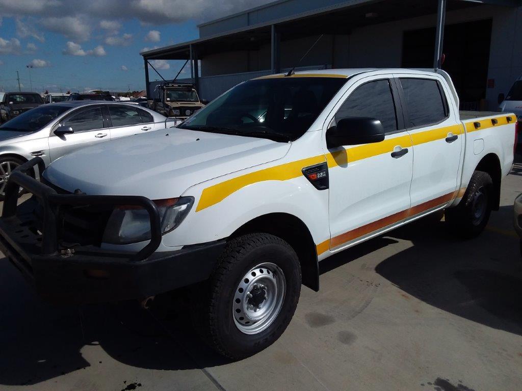 2013 Ford Ranger XL Hi-Rider PX Turbo Diesel Dual Cab